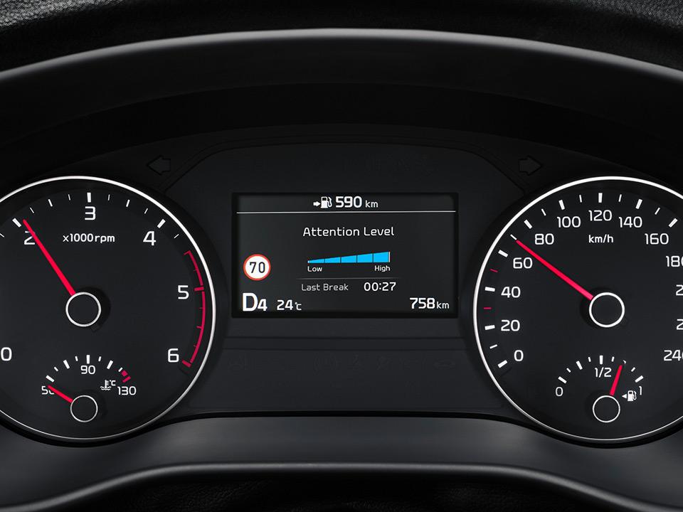 Système d'alerte de vigilance du conducteur (DAW)