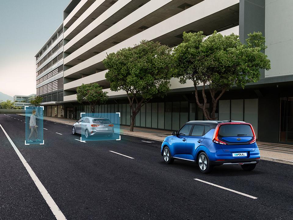 Système de freinage d'urgence autonome (FCA)