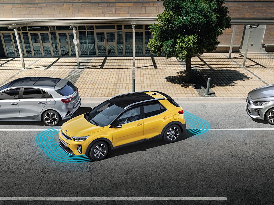 Radars de parking avant et arrière