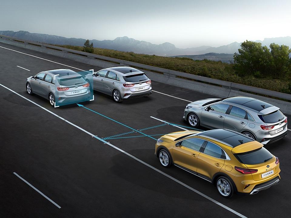 Assistance active à la conduite dans les embouteillages (LFA)
