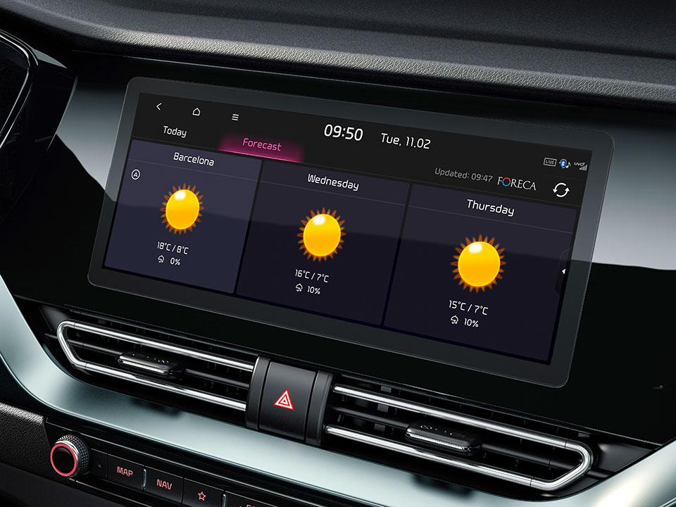 Compatibilité Android Auto™ et Apple CarPlay™